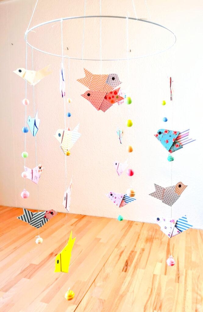 Papierstreifen Vogel